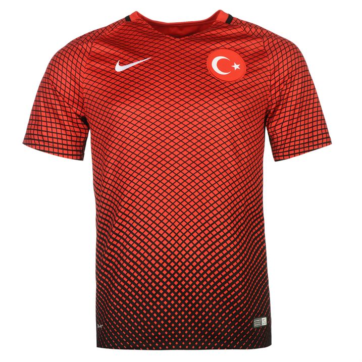 2016 2017 Turkey Home Nike Football Shirt (Kids) [724705 010] Uksoccershop