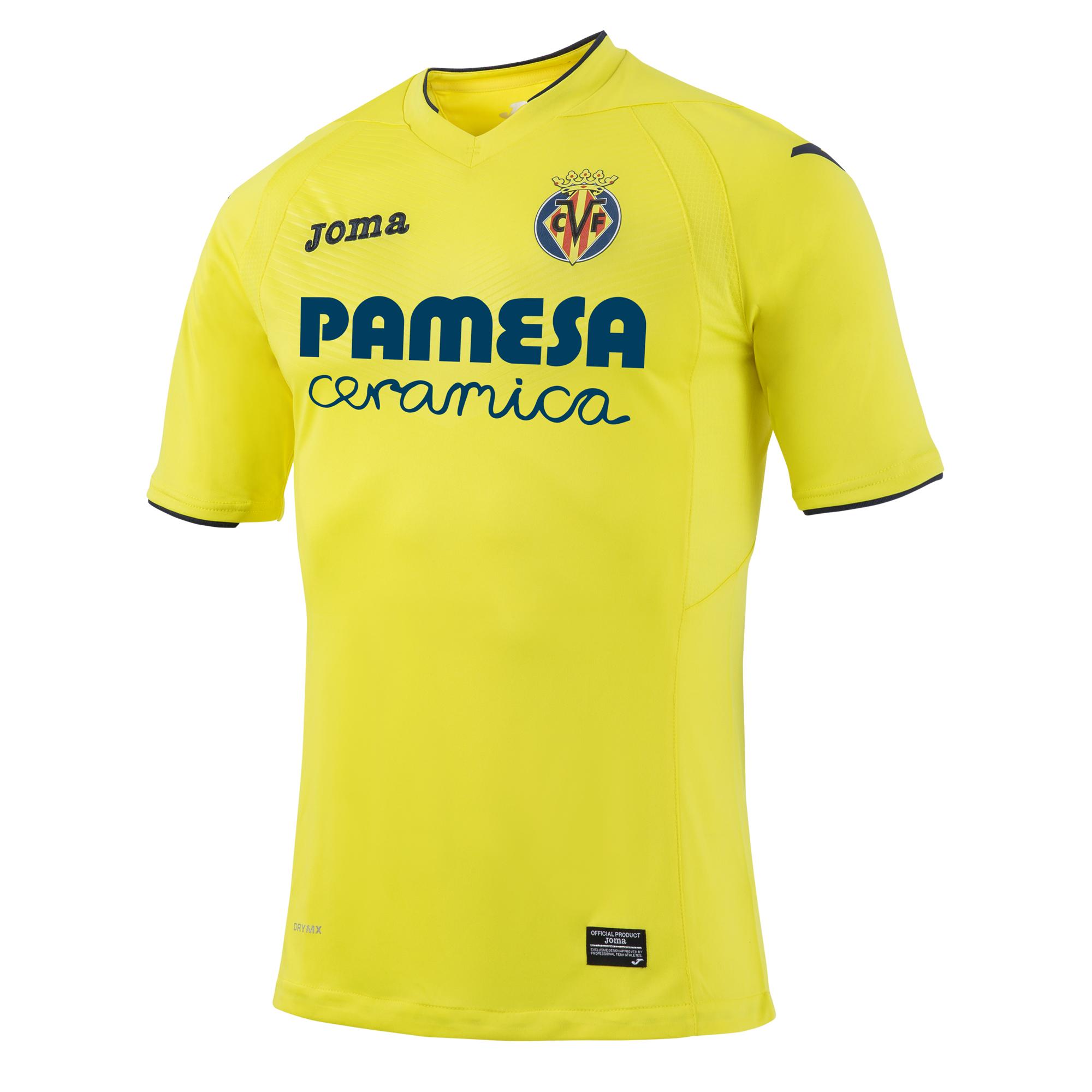 Football com category football kits image sl benfica 1st kit - 2016 2017 Villarreal Joma Home Football Shirt Vl 101011 16 Uksoccershop