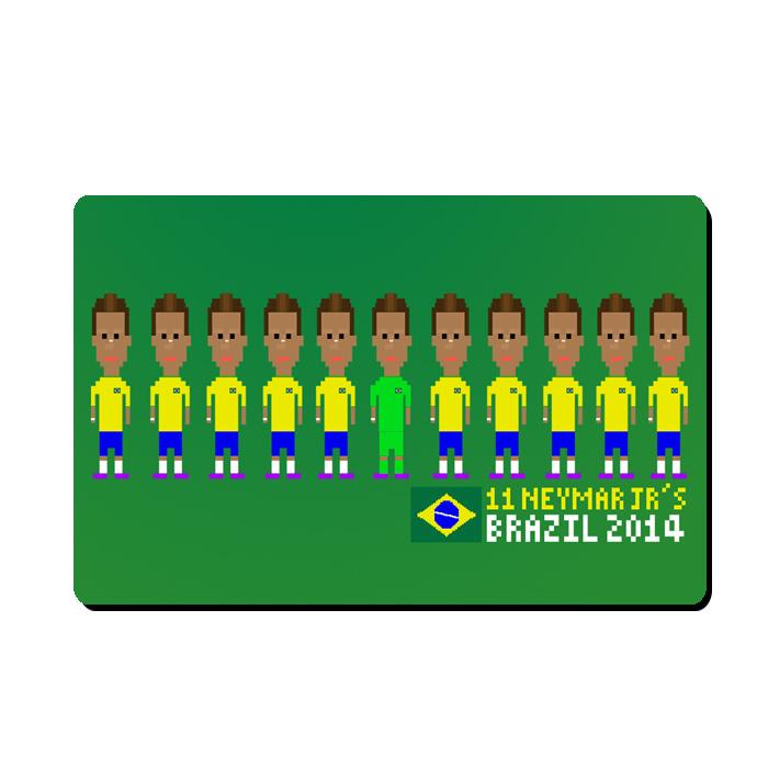 Neymar Player Mousemat (green)