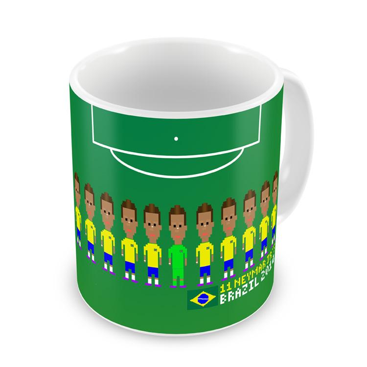 Neymar Player Mug (green)