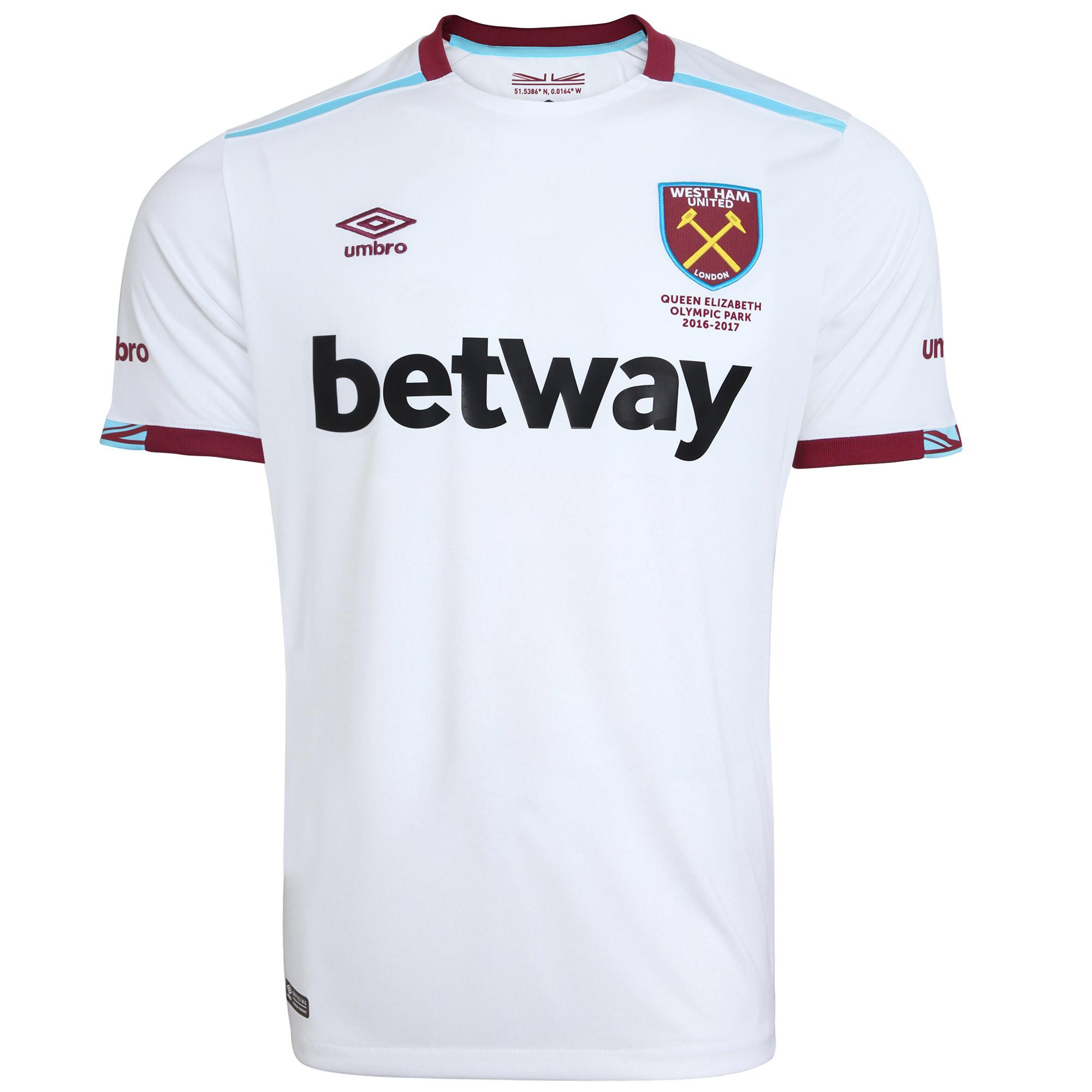 2016-2017 West Ham Away Football Shirt