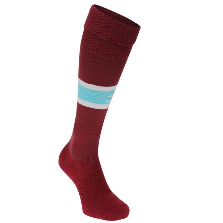 2016-2017 West Ham Home Football Socks (Maroon)