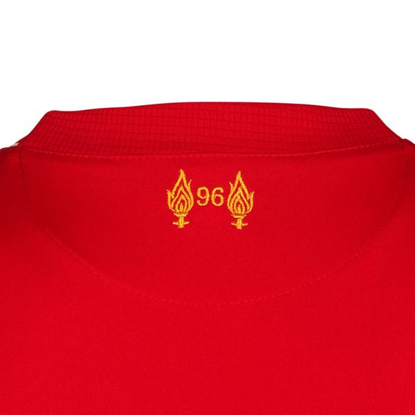 newest 57d9e 83a9b Liverpool New Balance home kit 2015/16 unveiled