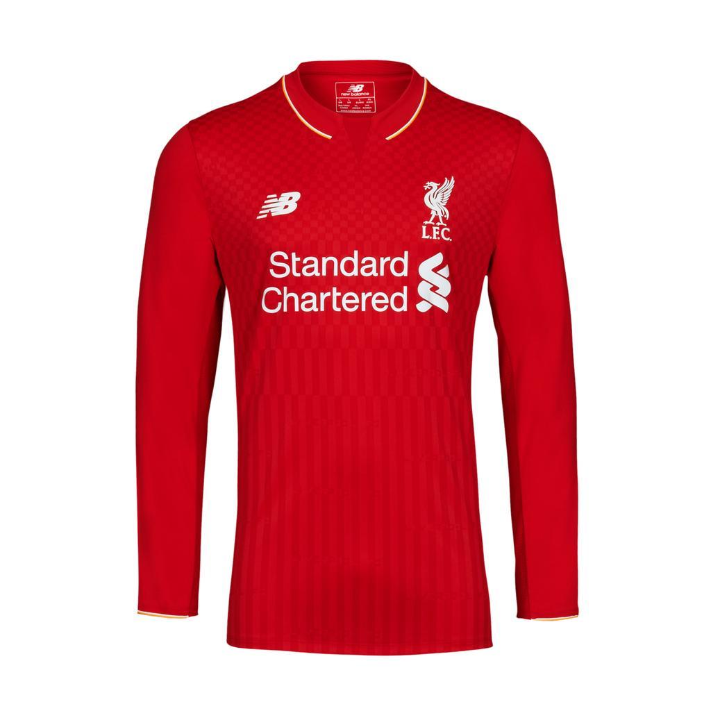 Liverpool New Balance home kit 2015 16 unveiled f3972ebf3