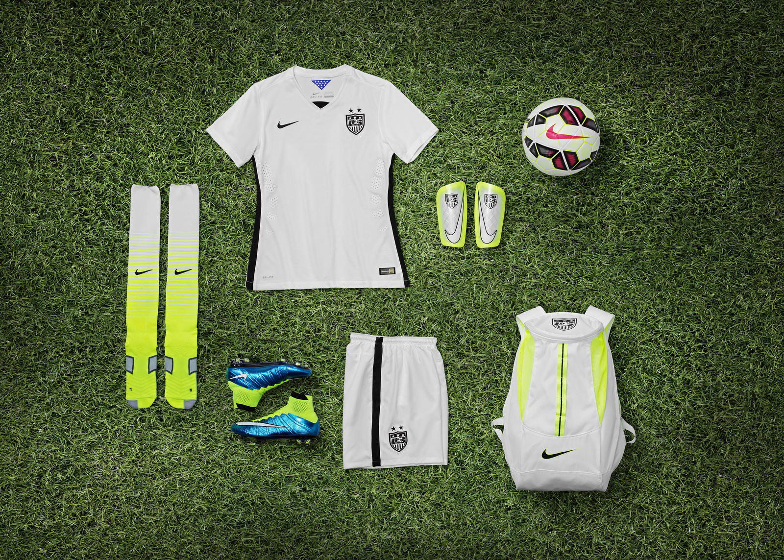New US WNT Nike Home Kit & Boot Collection