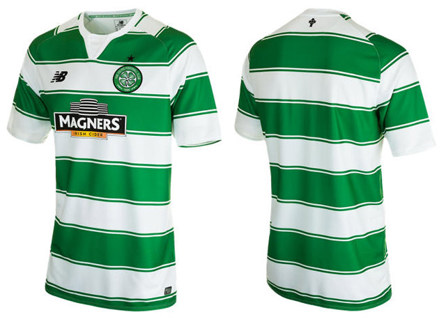 5b60e7f21 Celtic New Balance Home Shirt 2015-2016