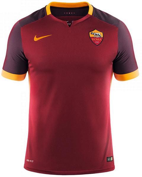 Nike As Roma 2015 16 Football Jerseys