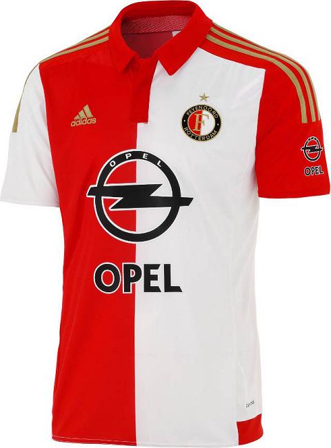 Adidas Feyenoord Jerseys Football 2015/16