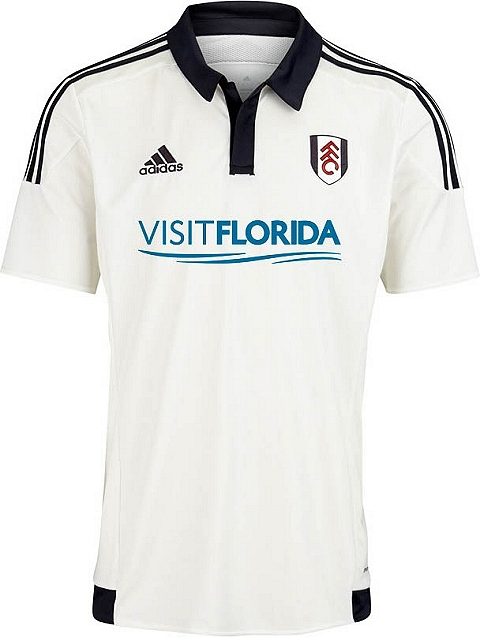 The new Fulham Away Jersey features a yellow and navy halves design. The  sleeves and sides of the new Adidas Fulham 2015-16 Away Kit are solid  yellow daa63ac05