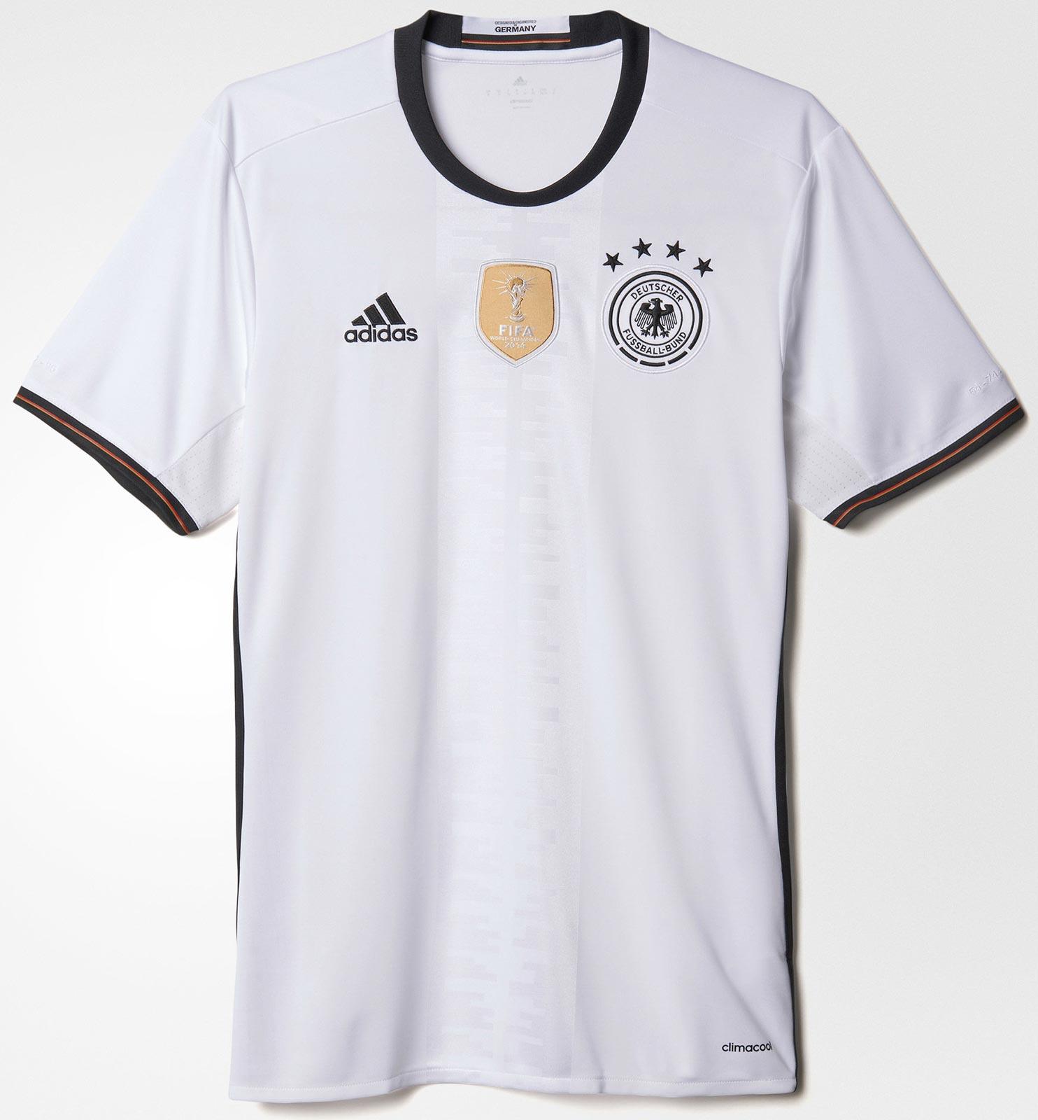 4e868f968 Adidas Germany Euro 2016 Home Jersey
