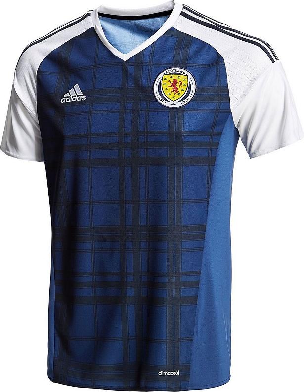 Adidas Scotland 2016 Home and Away Jerseys