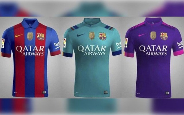 purchase cheap e10e0 34392 New 2016-2017 Barcelona Nike Kits Leaked - UKSoccershop.com