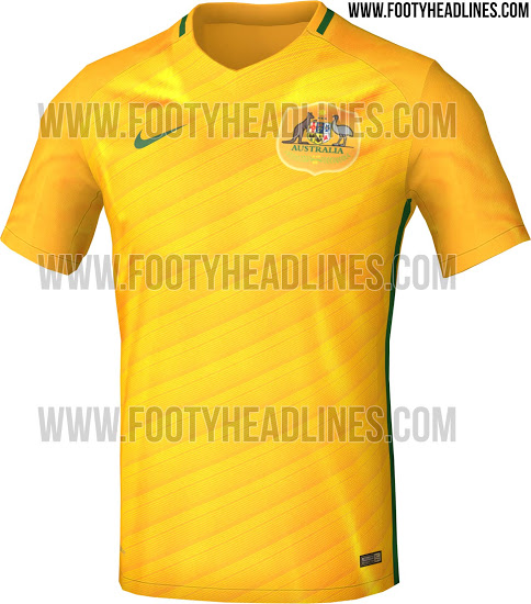 d65a21f20 New Australia World Cup 2018 Kit Leaked