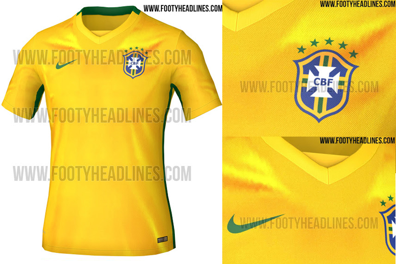 e60e4637a The new Brasil shirt is set to debut in a World Cup 2018 qualifier against  Uruguay on the 25th March.