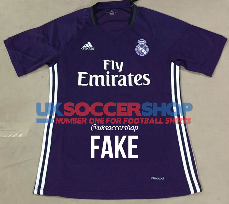 144697157 Anyone claiming this was a new Real Madrid shirt was only half right. This  is indeed a new Real Madrid 2016/2017 shirt, but it is only a training jersey  for ...