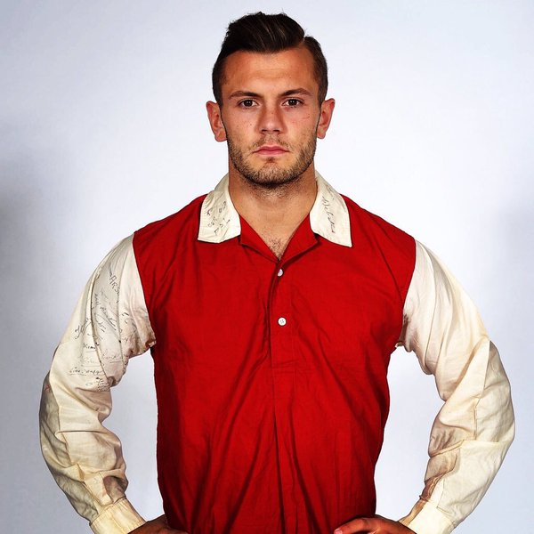 1933 First Arsenal Kit With White Sleeves