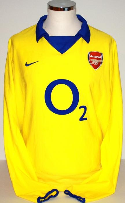 2003-04 Invincibles Away