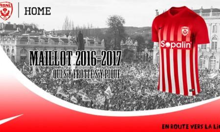 AS Nancy-Lorraine 2016-17 Home Kit Banner