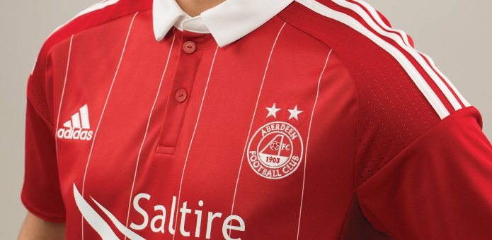 Aberdeen New Home Jersey For 2016-17
