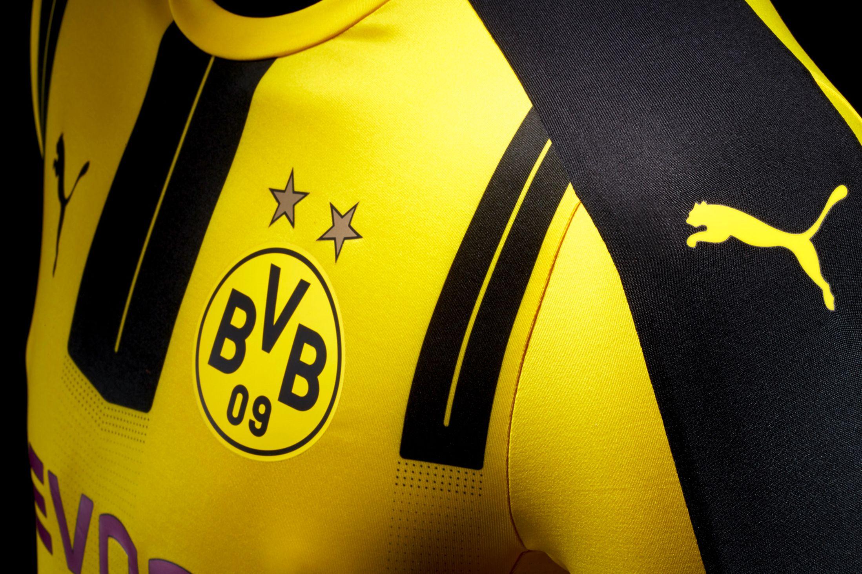 Borussia Dortmund 2016/17 Home Kit On Sale