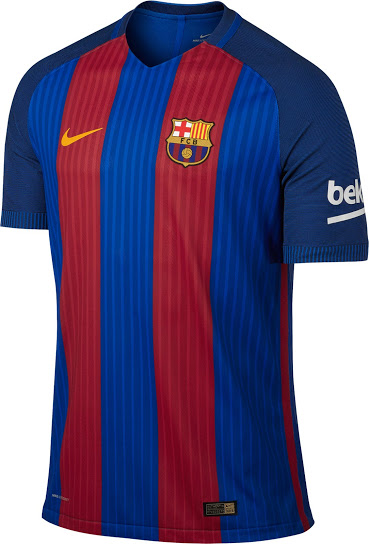 a5f9203832a Barcelona 2016 17 Home Kit Released