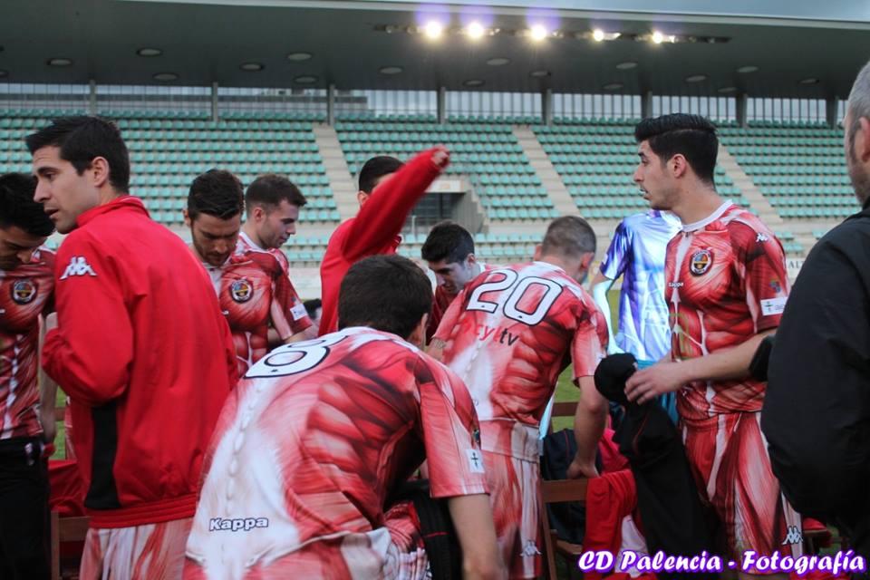 CD Palencia 2015-16 Kit back