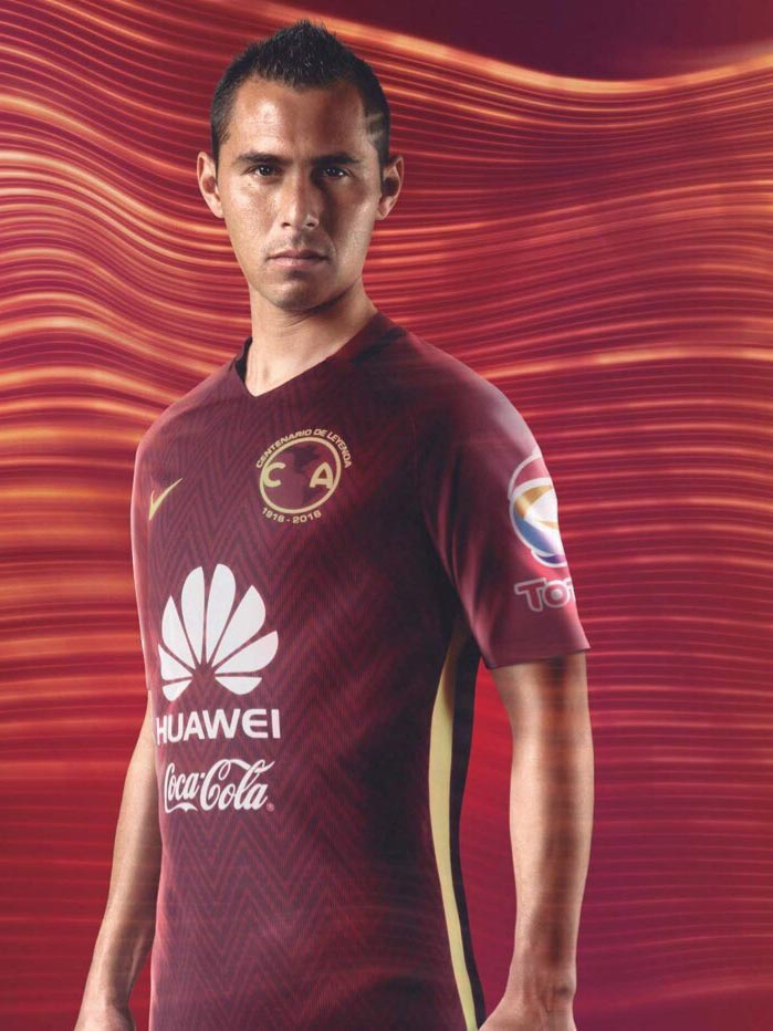 3dd9459f17f Club America 2016 17 Centenary Kits Revealed