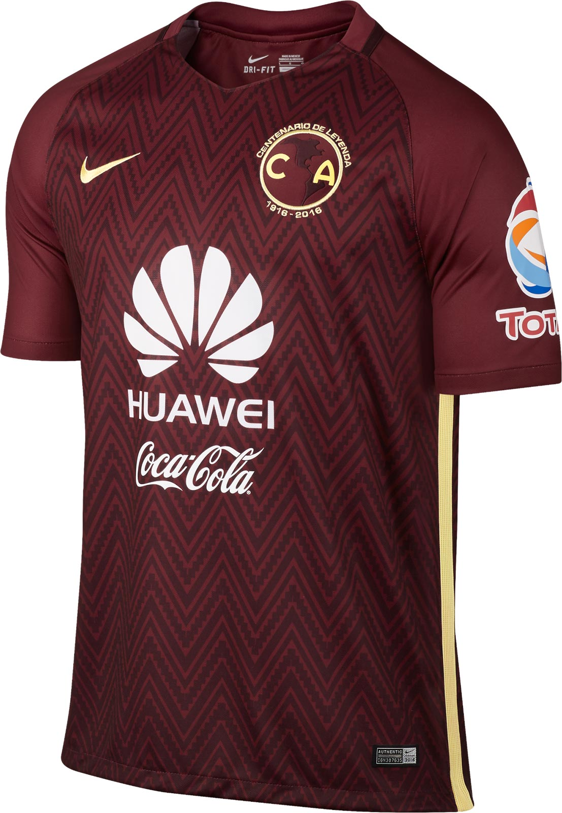 f5ac0a3061b Club America (Mexico) 2016 Away Kit Front ...