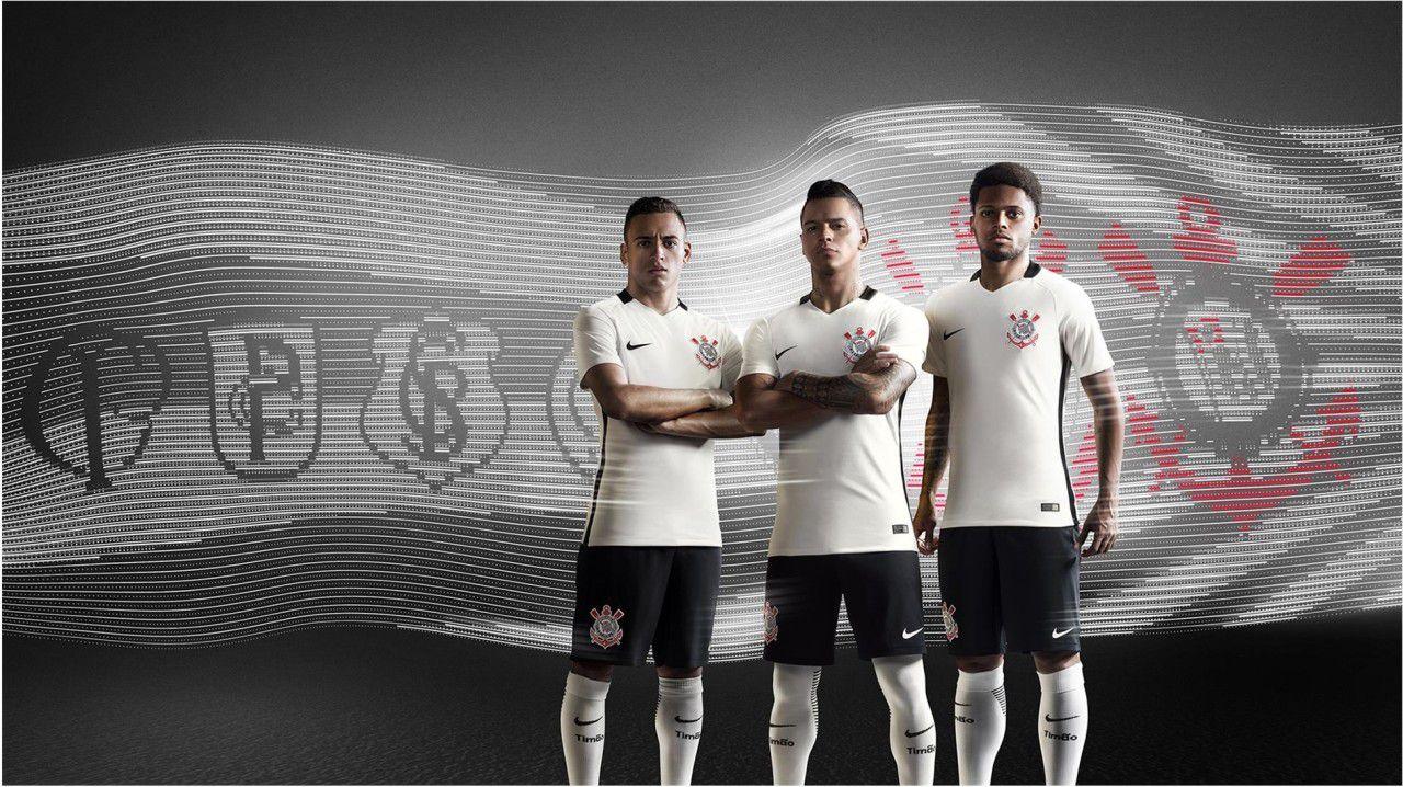 856b0cf20 New! Corinthians 2016 17 Home Kit Launched!