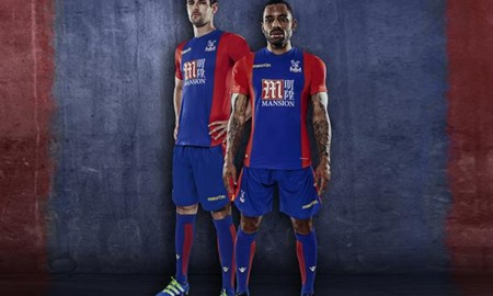 Crystal Palace 2016-17 home Kits