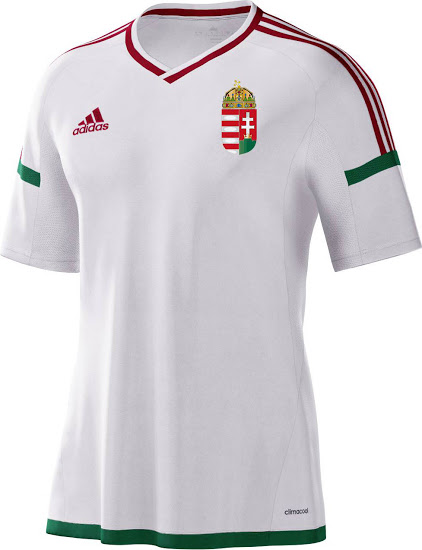 Hungary-Euro-2016 AWay kit