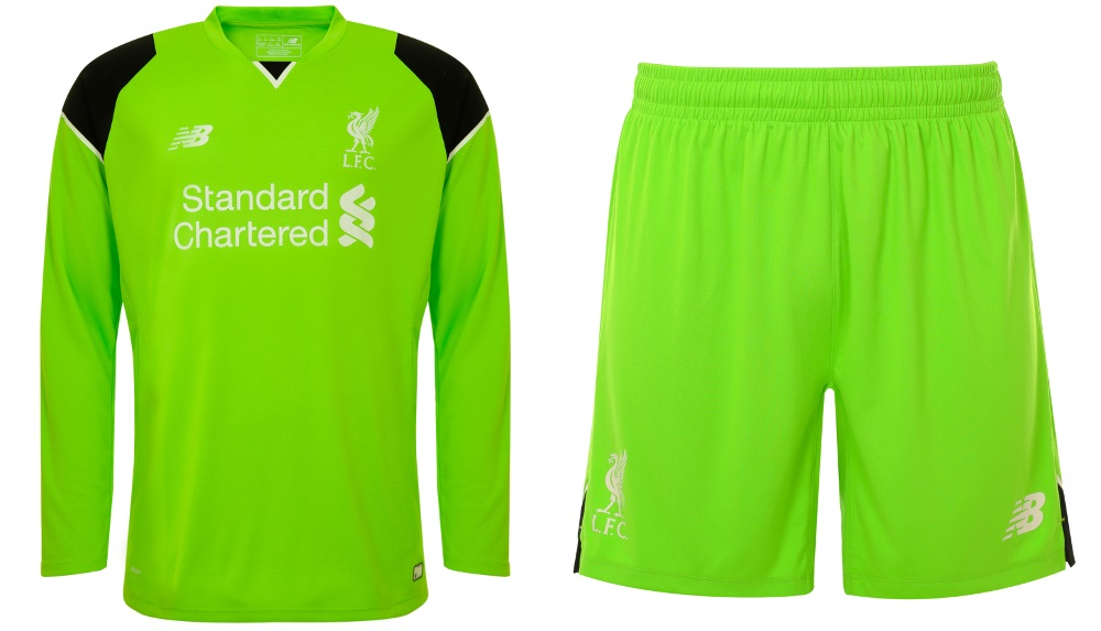 Liverpool 2016-17 Home Goalkeepers Kit
