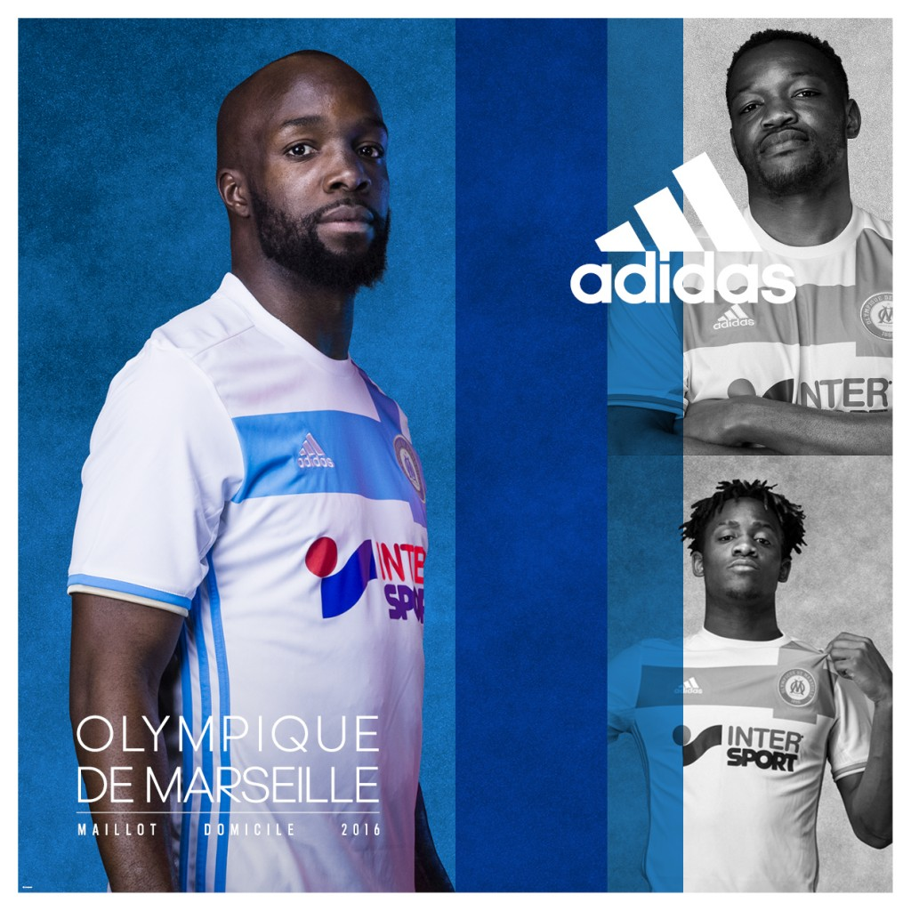 e4a7ad783 Olympique Marseille have released all three of their kits for next season  hoping that they will inspire a return to their former glories.