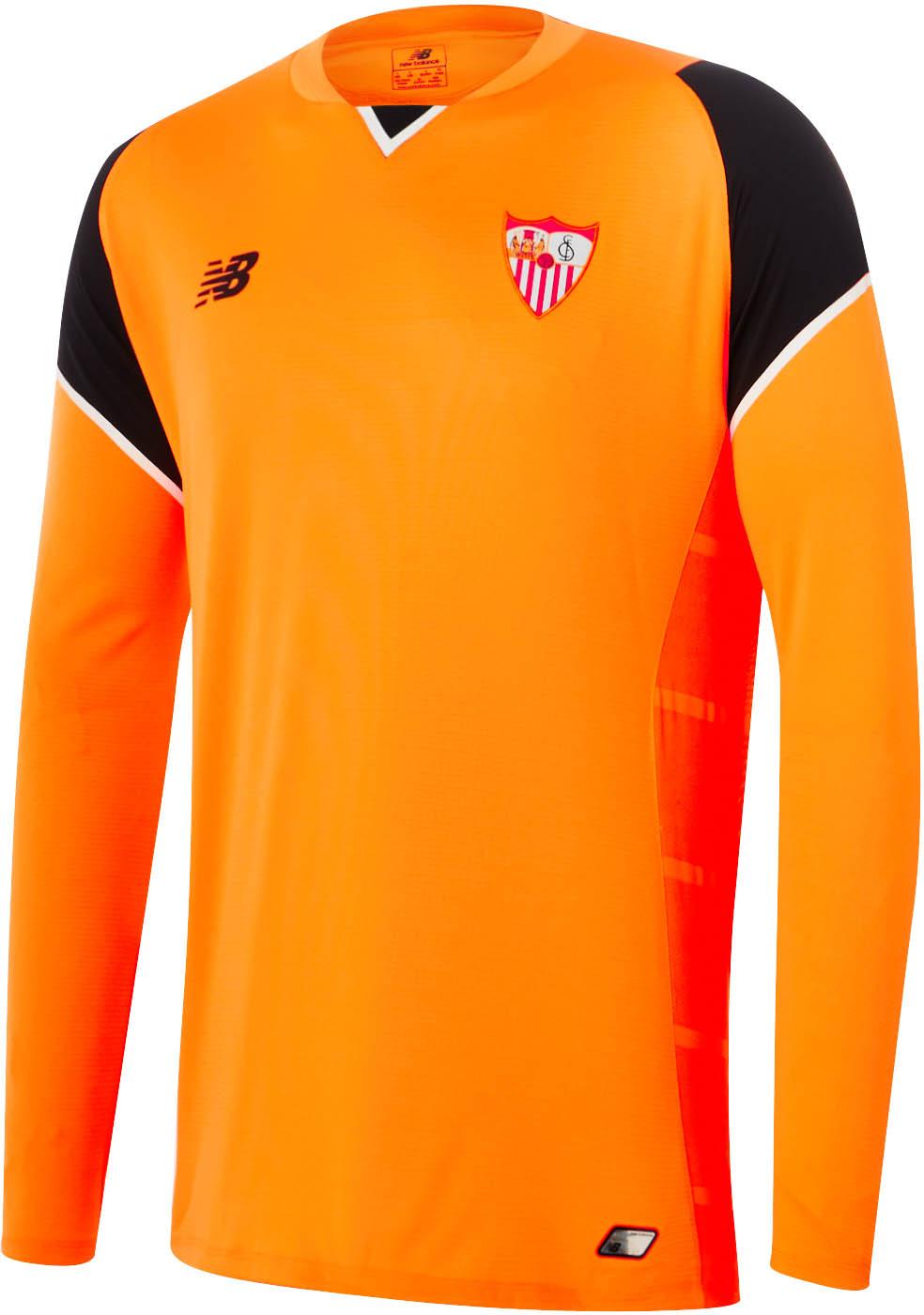 Sevilla FC 2016-17 Home Kit Goalkeeper Front
