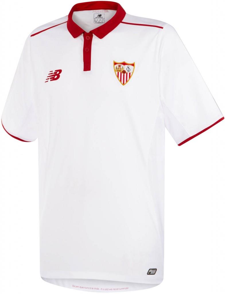 Sevilla FC 2016-17 Home Kit Shirt Front