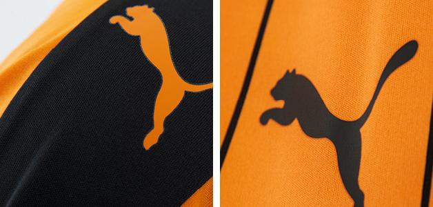 Wolves 2016-17 Home Kit Puma Lion