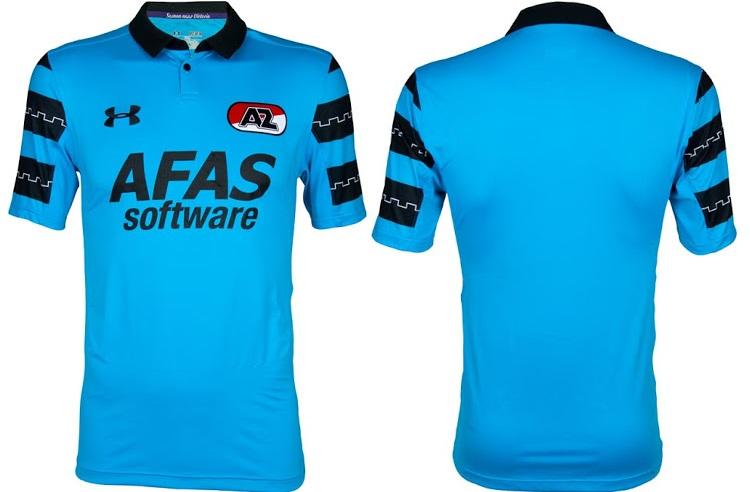 az alkmaar 16-17 away kit-front