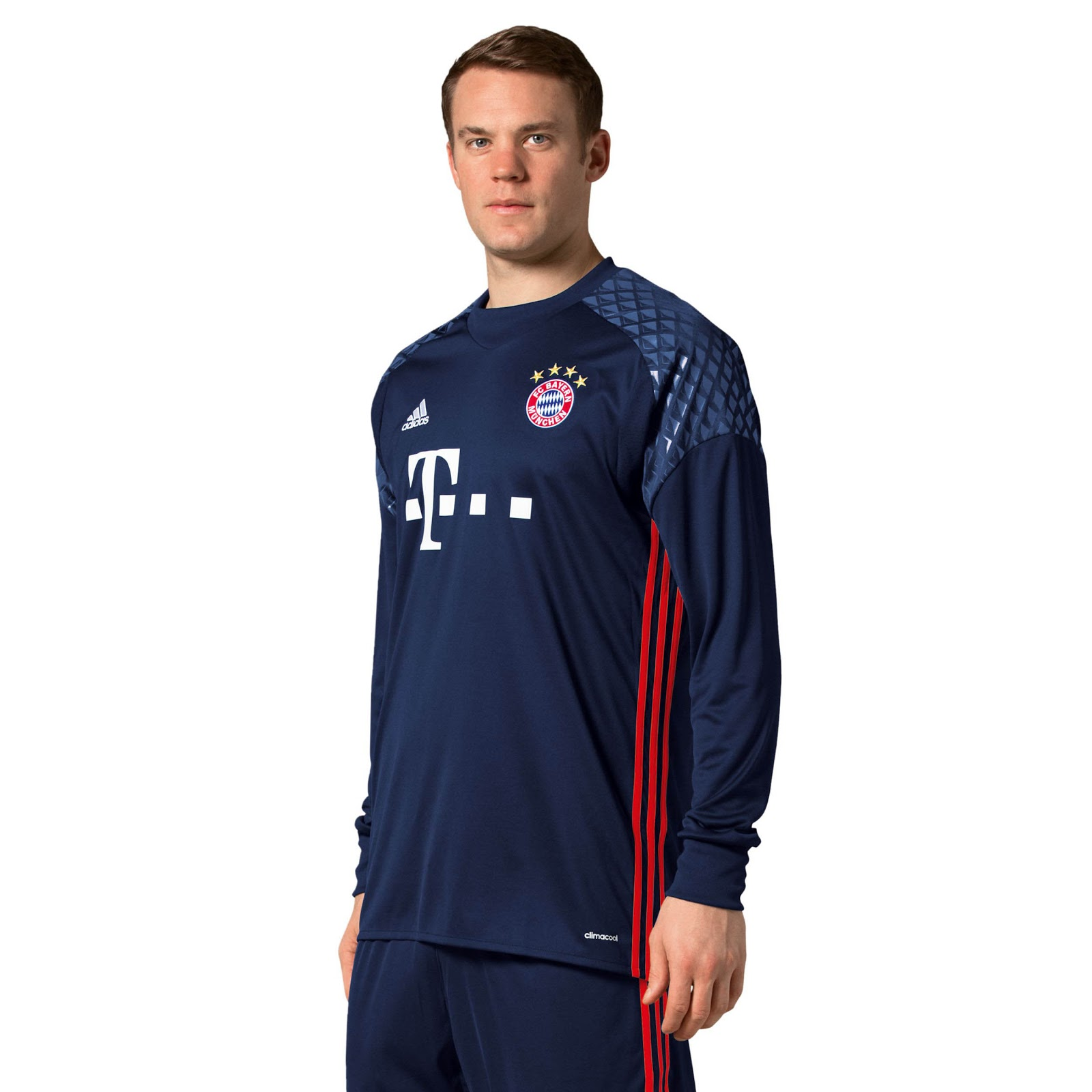 79d8e8109 Manuel To Wear Neuer Bayern 2016 17 Kit Today