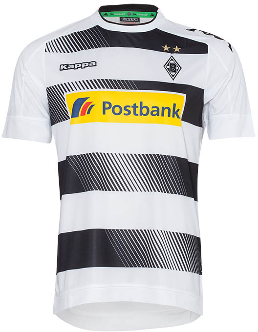Borussia Monchengladbach Launch New Home Kit For 2016 17