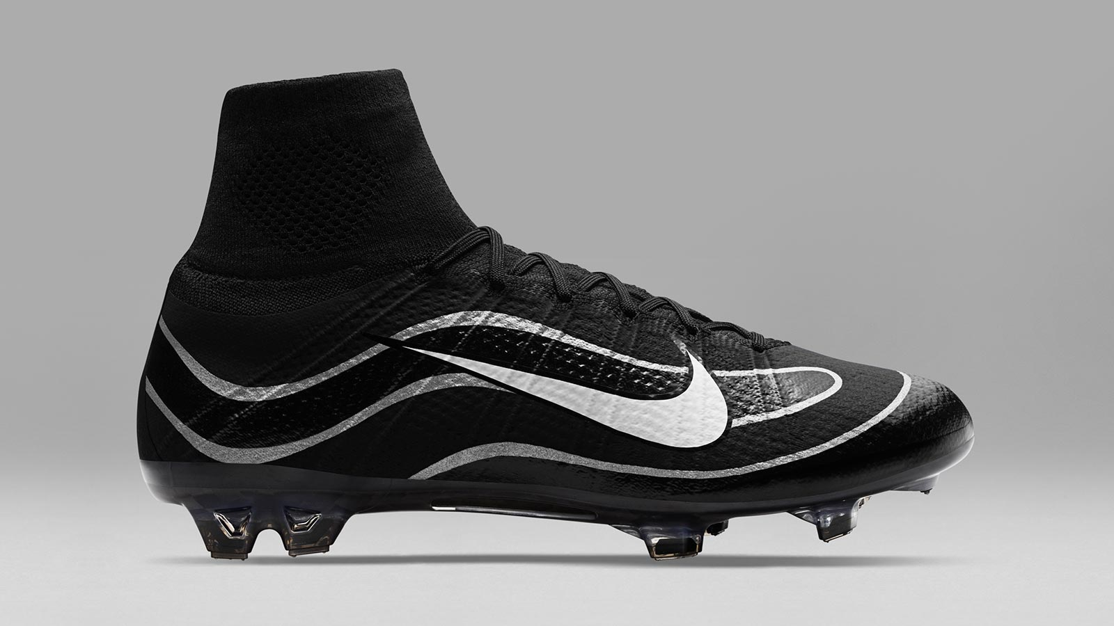 Black & White Nike Mercurial Superfly Heritage