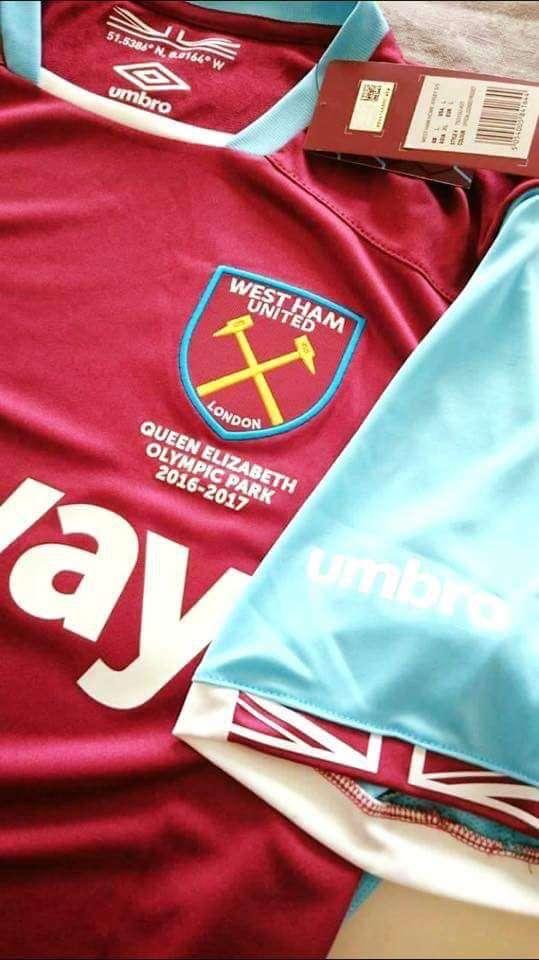 2016/17 West Ham United Hom Kit