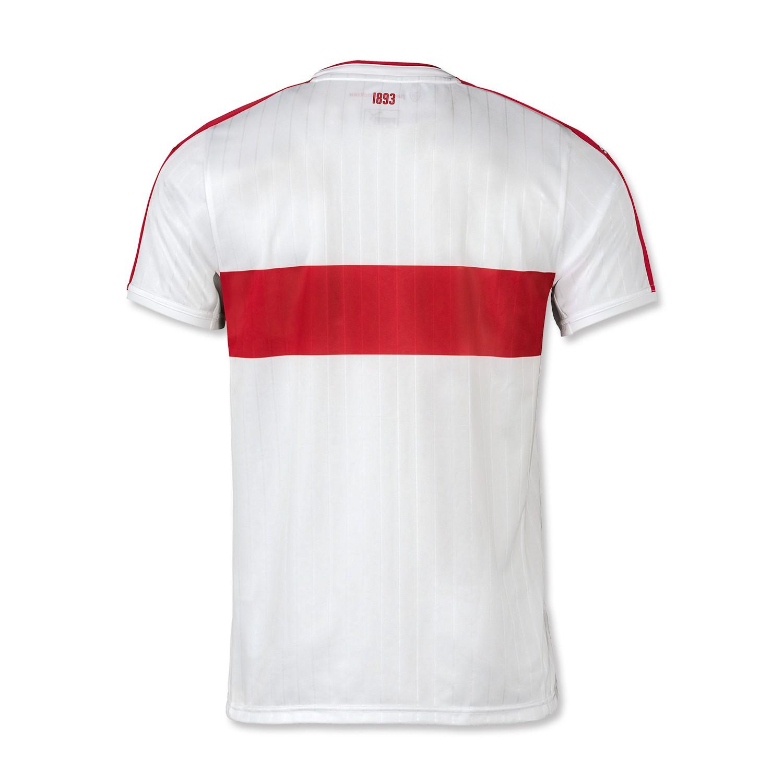 vfb stuttgart shirt 2016-17 home kit back