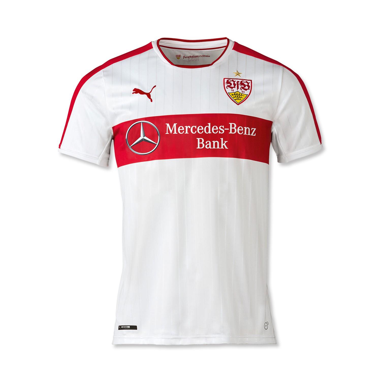 vfb stuttgart shirt 2016-17 home kit
