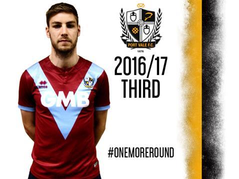 Third Port Vale 2016-17 Kit