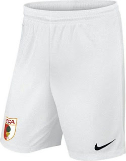 613d8f54f ... Augsburg-Shirt-2016-17-Home-Shorts ...