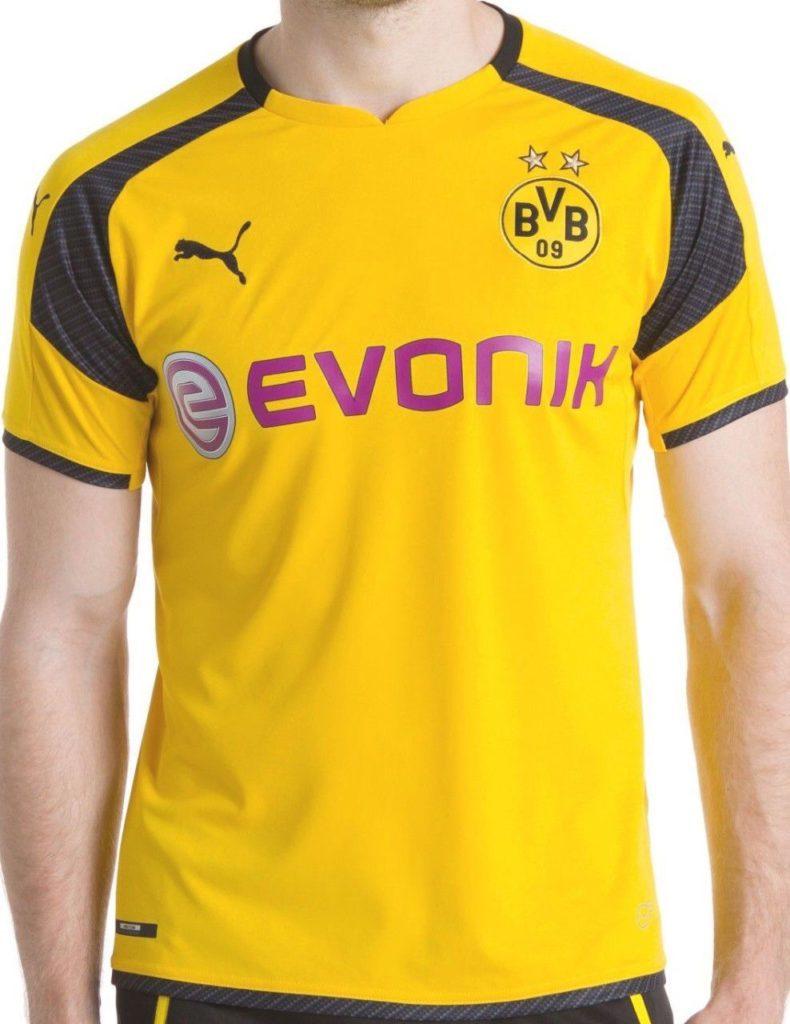 4c6b7dbe6b9 LEAKED! Borussia Dortmund 2016 17 Champions League Shirt
