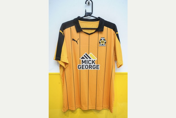 31/05/16 New U's kit 31/05/16 Abbey Stadium re New Cambridge United Kit Picture: Richard Patterson