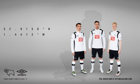 Derby County 2016-17 Home Kit Banner