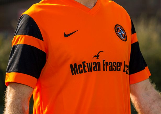 Dundee United 2016-17 Home Kit