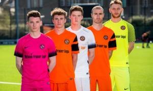 Dundee United 2016-17 Kits